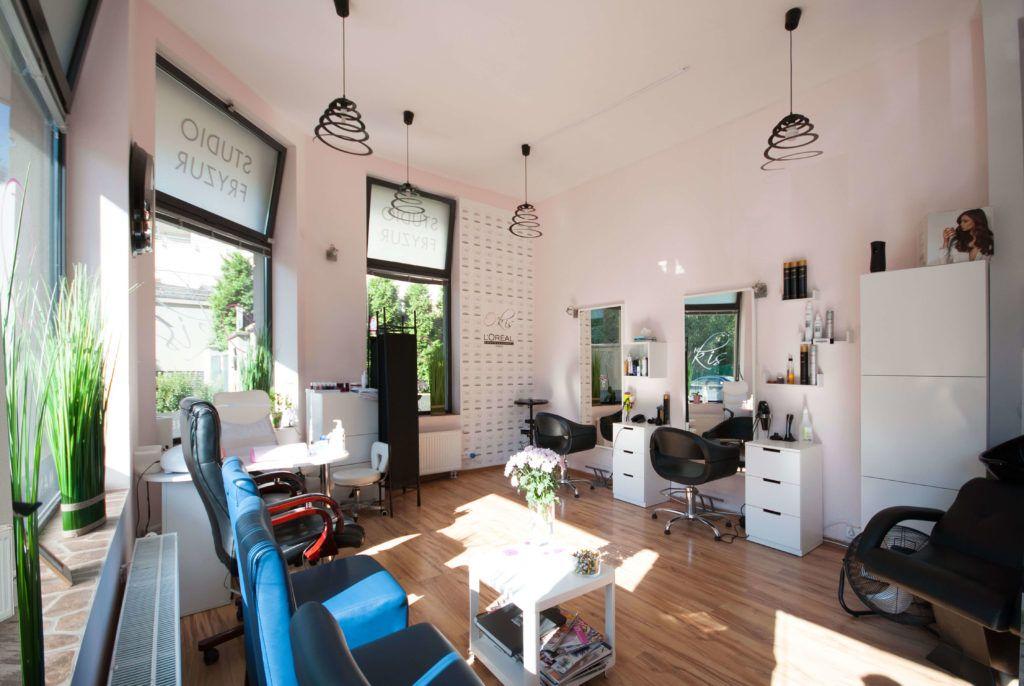 Salon fryzjerski O'kis przed metamorfozą