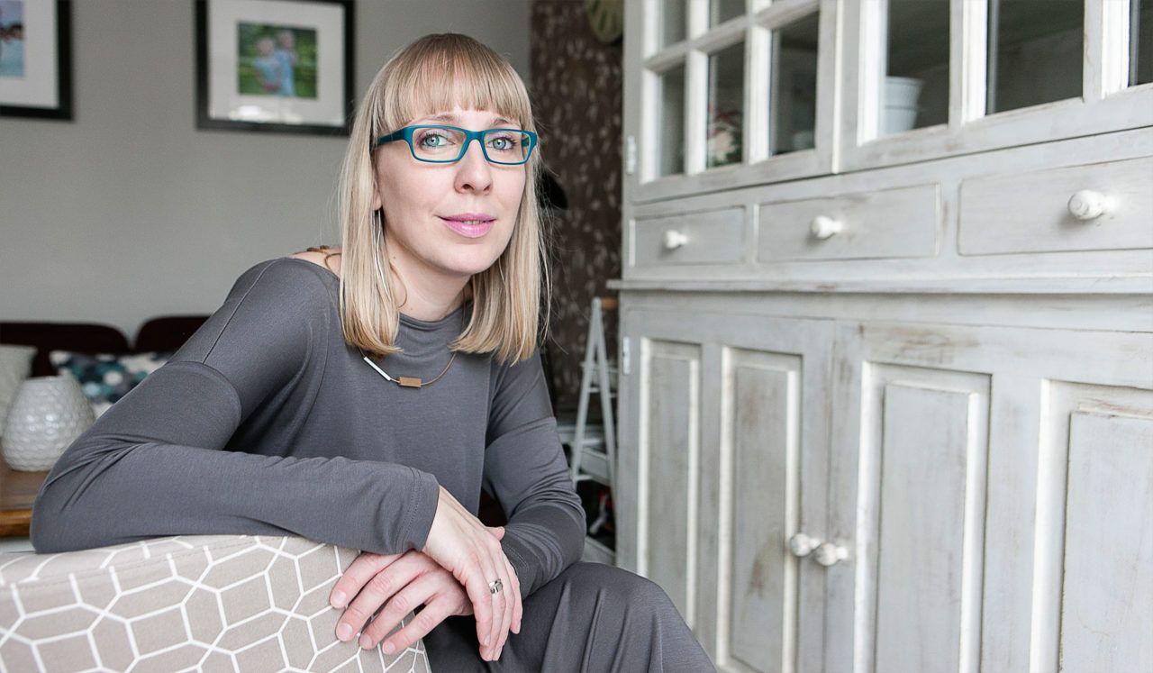 Portret Moniki Adamczyk-Rokickiej, właścicielki firmy Tailormade z Warszawy